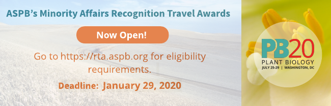 ASPB's Minority Affairs Recognition Travel Awards