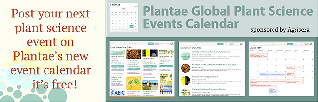 Global Plant Science Events Calendar