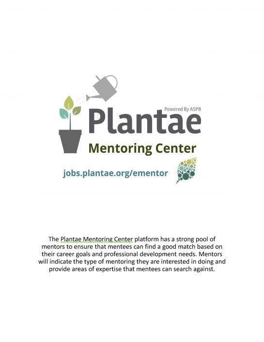 Plantae Mentoring